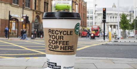 Bywaters Launches University Coffee Cup Recycling Project