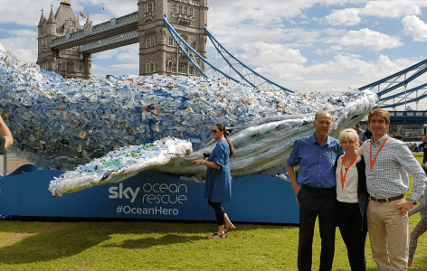 Bywaters Works with Sky TV to Combat Ocean Plastic