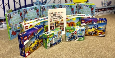 Bywaters Donates Toys for Newham Christmas Appeal