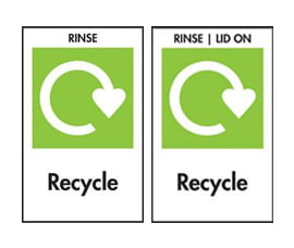 recycling symbols with keyword